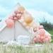 Kit Arche Luxe de 200 Ballons - Rose Gold Métallique/Pêche/Corail/Rose. n°2