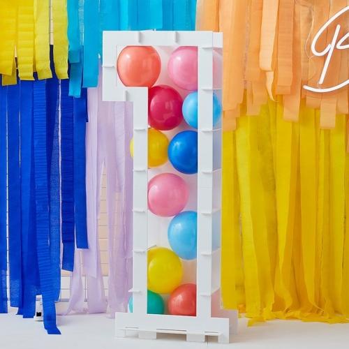 Structure à Ballons Chiffre 1 (81 cm)