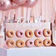 Présentoir à Donuts Rose Gold