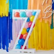 Structure à Ballons Chiffre 7 (81 cm)