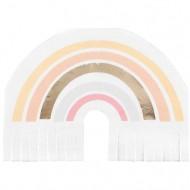 16 Serviettes Happy Everything Arc-en-Ciel Pastel