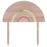 1 Cake Toppers Happy Everything Arc-en-Ciel Pastel
