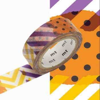 Masking Tape Halloween Patchwork