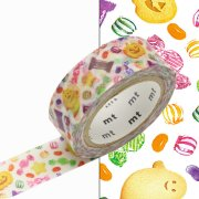 Masking Tape Halloween Treats Bonbons