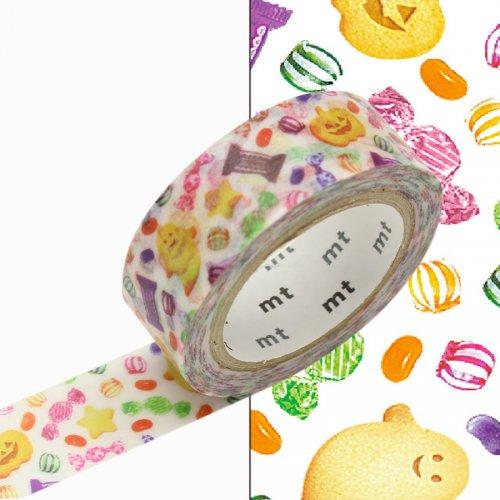 Masking Tape Halloween Treats Bonbons
