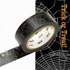 Masking Tape Halloween Spider Araignée