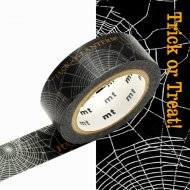 Masking Tape Halloween Spider Araign�e