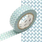 Masking Tape Tressé Bleu (10 m)
