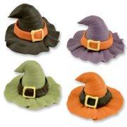 4 Chapeaux de sorci�re Halloween
