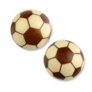 4 Ballons de foot en chocolat