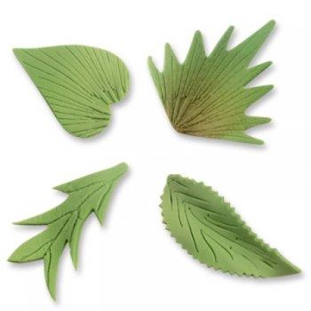 Assortiment de 8 feuilles en sucre