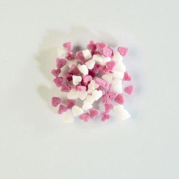 Mini Coeurs en sucre 50 gr