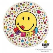 Disque en sucre Smileys Maxi