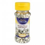 Perles Croustillantes Blanc/Argent nacr�