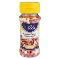 Perles Croustillantes Rose/Blanc nacré