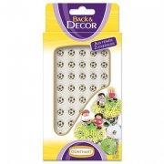 48 mini ballons de foot en sucre (8 mm)