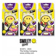 Set D�cors Smiley Be Happy en sucre