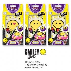 Sujets et décors pour embellir son gâteau smiley, emoji pour l ... 2584ac27b4aa