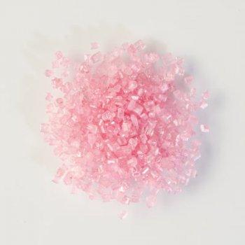 Sachet 50 g sucre Scintillant Rose