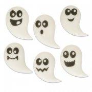 6 Fantômes à Plat en sucre