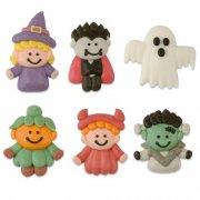 6 Décors Halloween à Plat en sucre