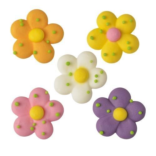 5 Fleurs Primevères (2,3 cm) - Sucre