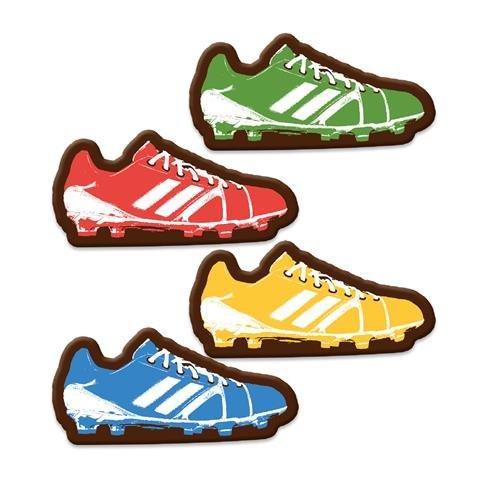 4 Chaussures de Foot Pop (4 cm) - Chocolat Lait