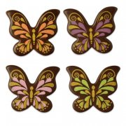 4 Papillons en Chocolats