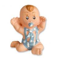 Mini Bébé Bleu (3 cm) - Résine