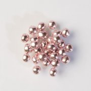 Perles croustillantes Rose brillant (4 mm - 50 g) - Chocolat