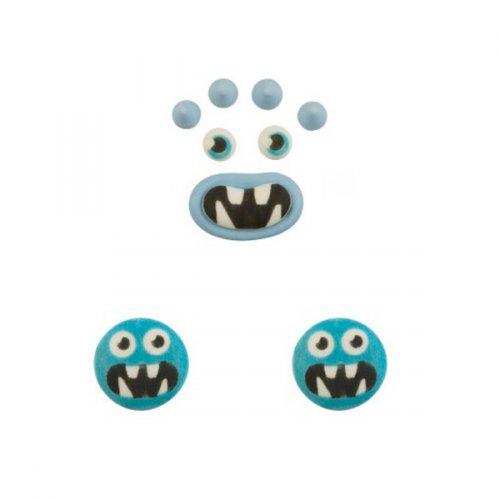 Set Monstre Bleu - Sucre