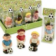 1 Footballeur (6 cm) - Pâte d'amandes
