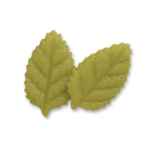 2 Feuilles 2D (3,5 cm) - Pâte d amandes