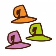 3 Chapeaux de Sorcières - Chocolat Noir