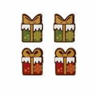 4 Cadeaux de Noël - Chocolat Noir