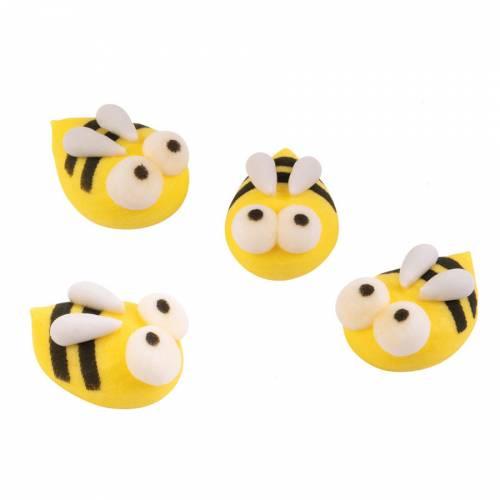 4 Petites Abeilles  (2 cm)  - Sucre
