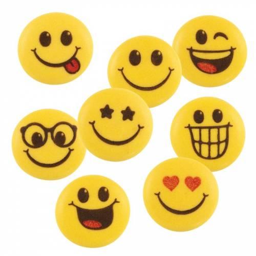 5 Décors Smiley - Sucre