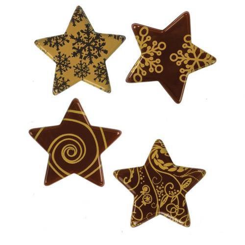 4 Etoiles Dorées - Chocolat Noir