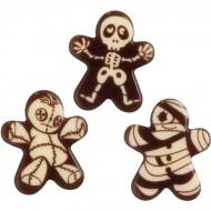 3 Décors Momie - Chocolat Noir