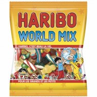 World Mix Haribo - Sachet 120g