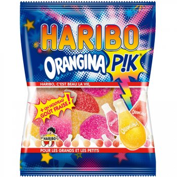 Orangina Pik Haribo - Mini sachet 40g