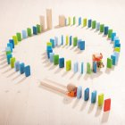 Jeu de construction Domino simple