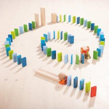 Jeu de construction Domino simple