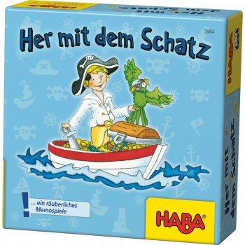 Her mit dem Schatz! (Jeu en allemand)