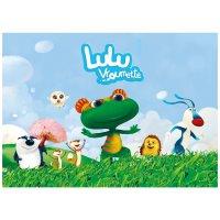 Contient : 1 x 8 Sets de table Lulu Vroumette
