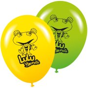 8 Ballons Lulu Vroumette
