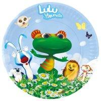 Contient : 1 x 1 assiette Lulu Vroumette