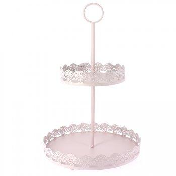 Présentoir à Cupcakes Rose Pastel
