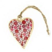 Coeur Romantique décoratif