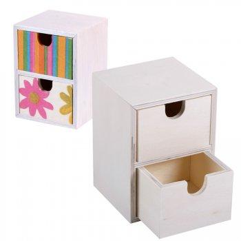 Boîte à secrets à décorer en bois